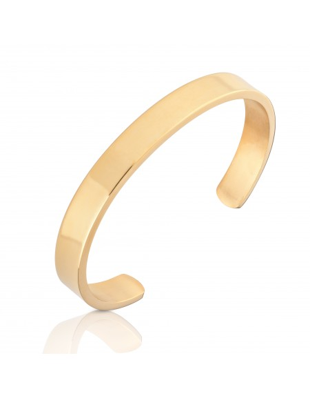 """The Ghost"" Gold Cuff Bracelet"