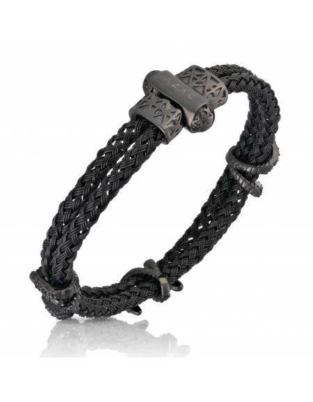 """The Claws"" Black Cable Bracelet"