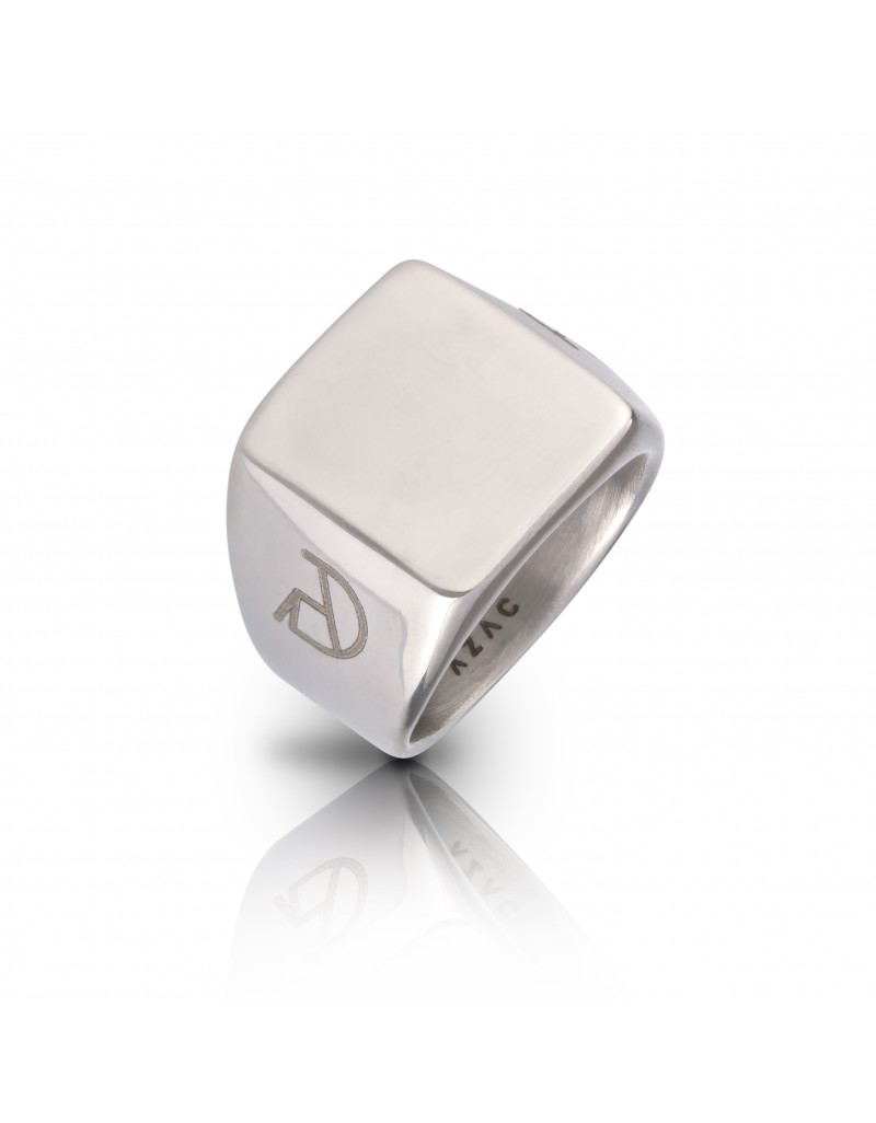 """""""The Jefe"""" Silver Ring"""